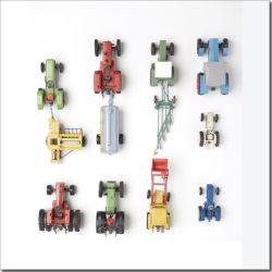 Art&So Canvasdoek Kids Tractors 50 x 50 cm kopen? Bestel bij fonQ.nl