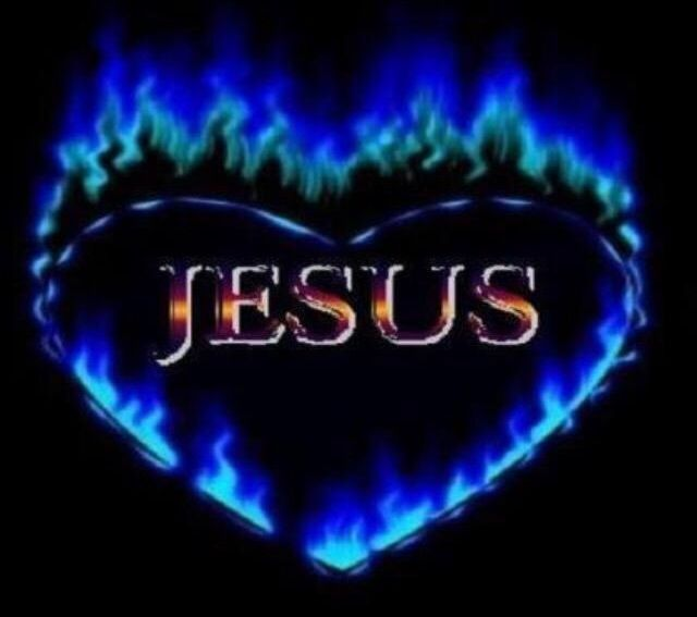 Heart On Fire For Jesus Burns A Beautiful Flame Jesus Yeshua