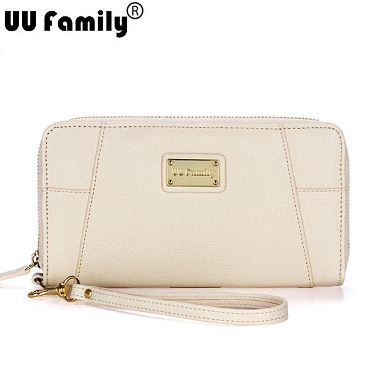 UU Family New Saffiano PU Wallet Women Multifuctional Purse Women Wristlet Wallet Clutch Card holder iPhone Cellphone Holder www.bernysjewels.com #bernysjewels #jewels #jewelry #nice #bags