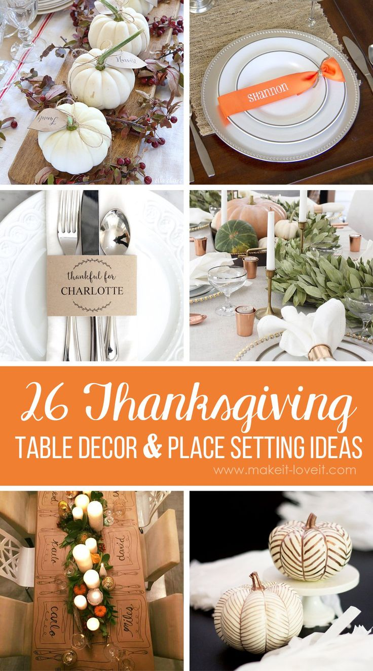66 best fall decor images on pinterest fall decor fall Cheap thanksgiving table setting ideas