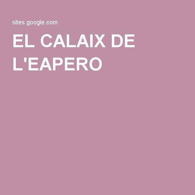 EL CALAIX DE L'EAPERO
