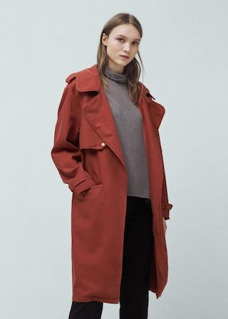 Trench coton -  Femme   OUTLET France