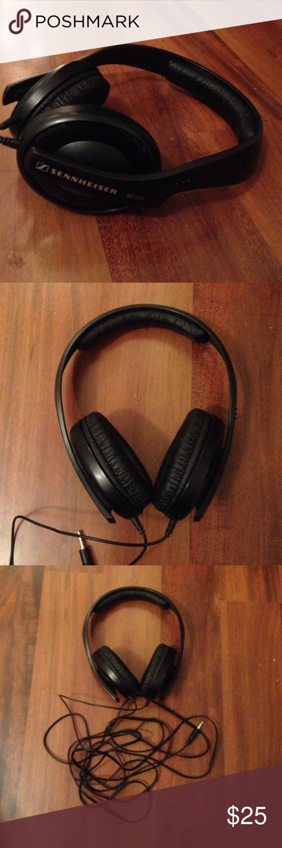 HIGH QUALITY Headphones With Long Cord Just got new over the ear headphones but these are exceptionally comfortable and good quality! Sennheiser Other