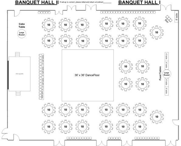 40 Best 001 Reception Layout Round Rectangle Tables Images On Pinterest