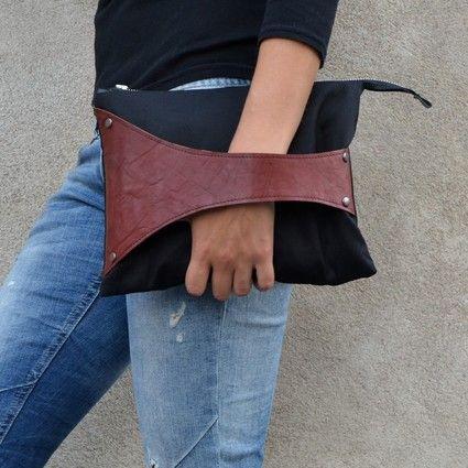Salmiak Studio - Leather Detail -laukku