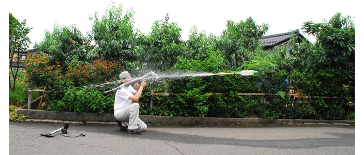 Win Every Water Fight With The RPG-7 Water Rocket! Whatever you currently use for a squirt gun pales in comparison to this new toy. Japanese company Marudai has developed the ultimate weapon in the water-gun universe. It's a water rocket-propelled grenade launcher, and it fires water bottle rockets. Just think of the fun you could have annoying your neighbors! #awesome #toy