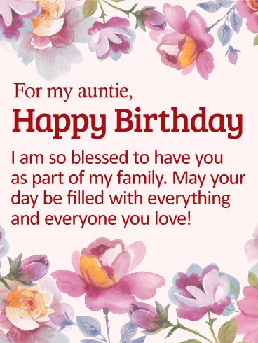 59 best birthday cards for aunt images on pinterest send free so blessed to have you happy birthday card for aunt to loved ones on birthday greeting cards by davia its free and you also can use your m4hsunfo Gallery