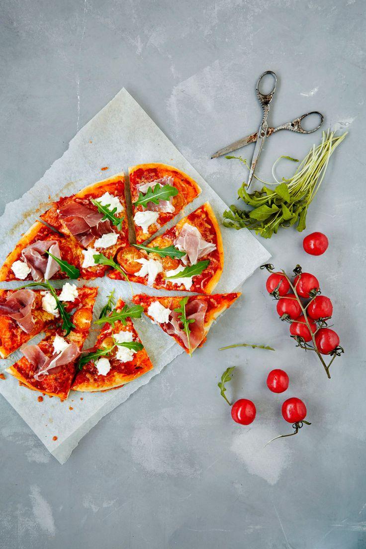 Parmankinkku-mozzarellapizza | K-Ruoka