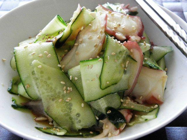 Salade de poulpe au Wasabi - La cuisine japonaise du quotidien