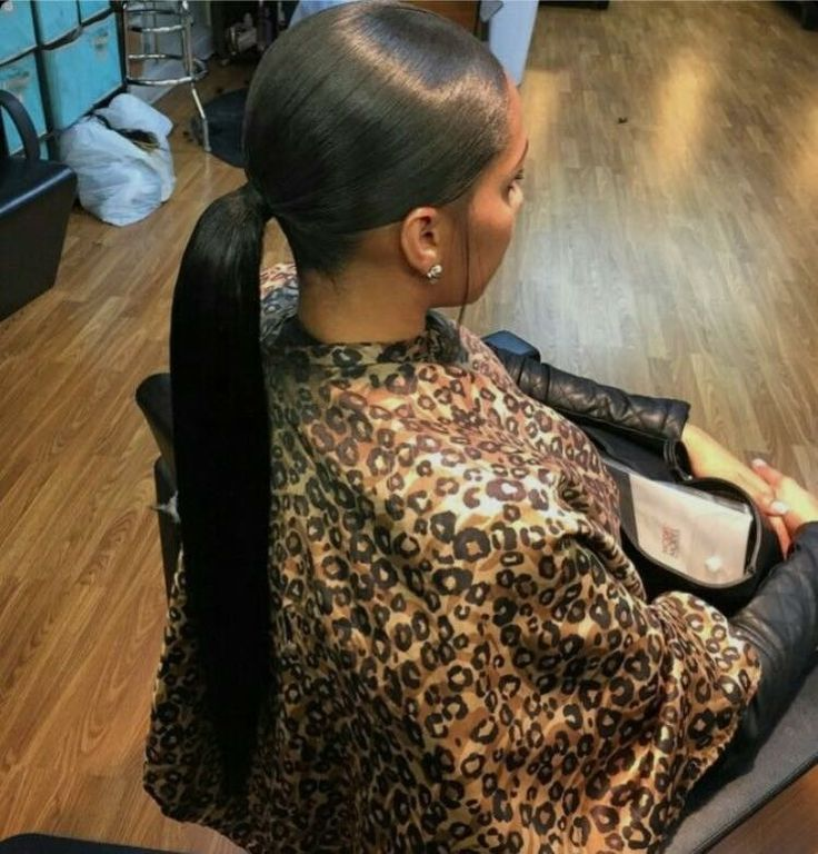 Weave ponytail