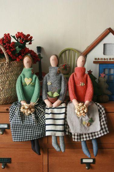 Тильда-человечки - 12 Марта 2015 - Кукла Тильда. Всё о Тильде, выкройки, мастер-классы.
