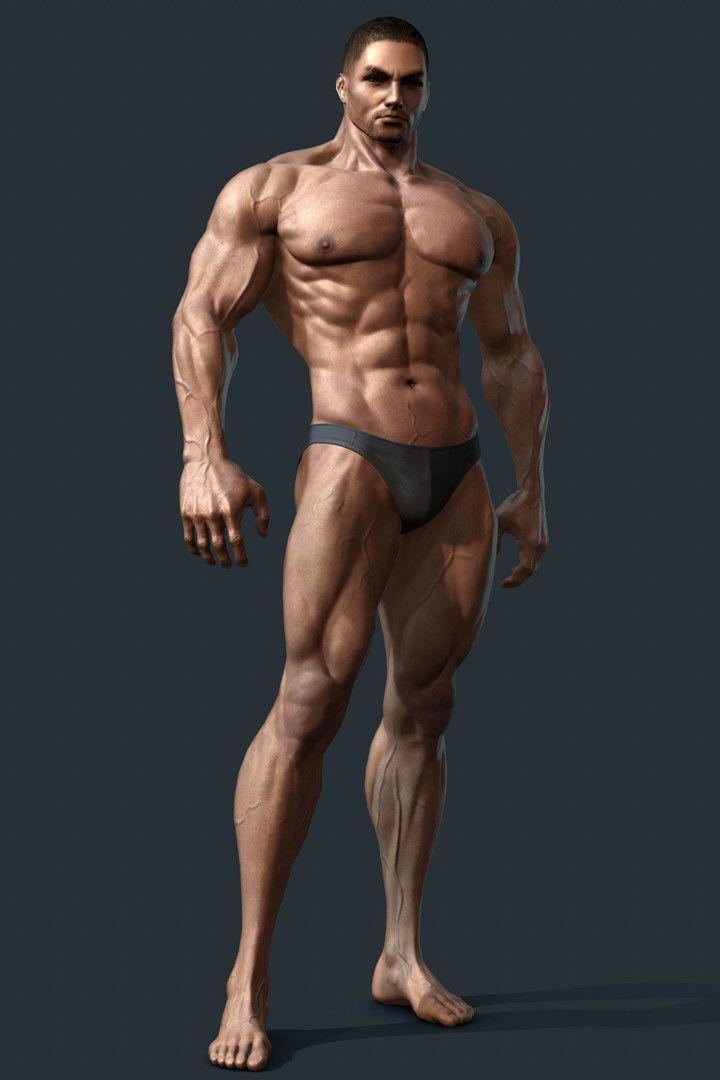 Human Body, Shin JeongHo on ArtStation at https://www.artstation.com/artwork/lNPlO
