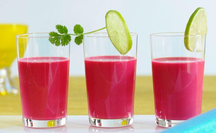 Von der Redaktion für Sie getestet: Rote-Rüben-Sellerie-Suppe mit Limetten. Gelingt immer! Zutaten, Tipps und Tricks