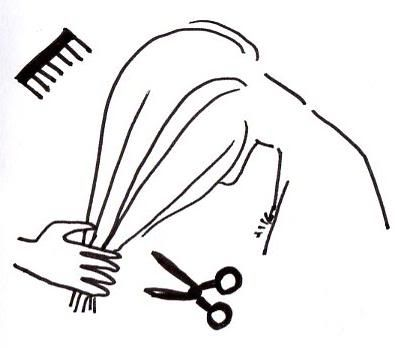 Come tagliarsi i capelli da sole