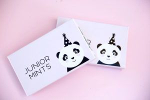 Custom candy wrapper from a Party Like a Panda Birthday Party on Kara's Party Ideas | KarasPartyIdeas.com (15)