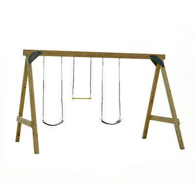 Swing-n-Slide Ready to Build Custom Scout Swing Set Hardware Kit & Reviews | Wayfair