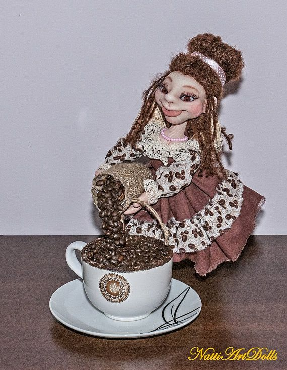Interior Doll Collectible Toy Coffee Fairy Action Figurines