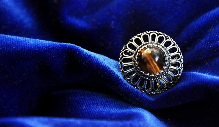 Traditional Silver Filigree Ring www.silverfiligree.tumblr.com