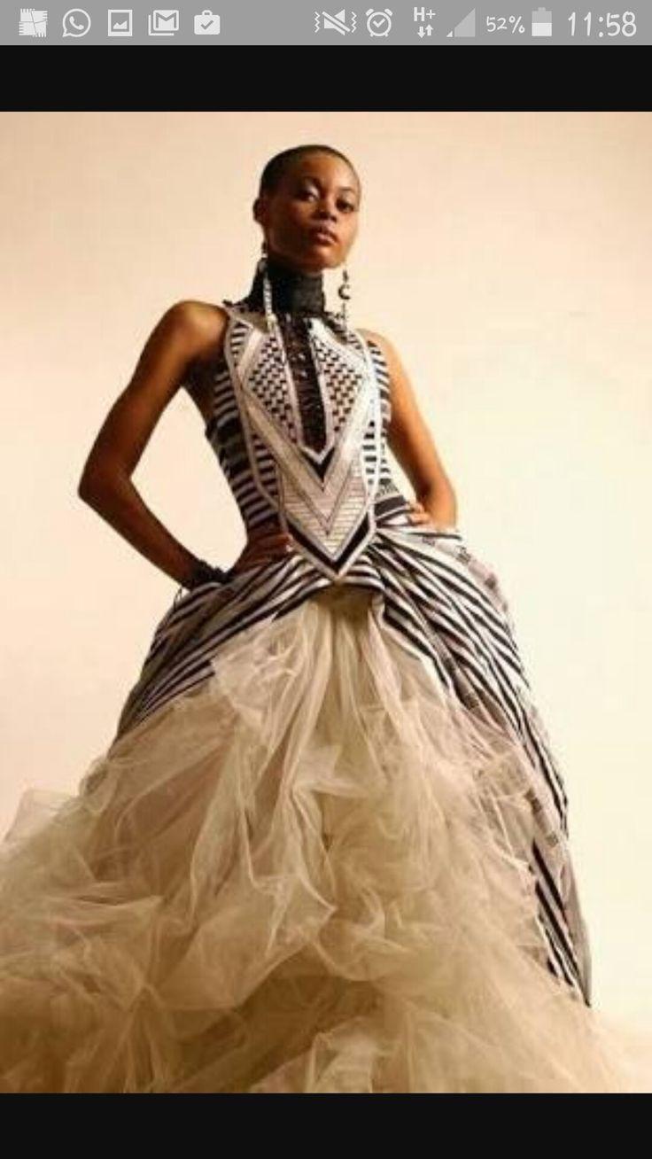Cotour Xhosa bride