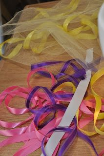 How to make a ribbon trimmed tutu..*sewing involved*