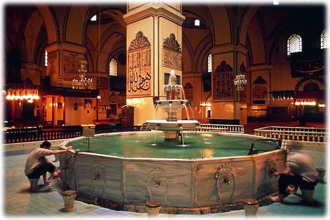 Welcome to the Islamic Holly Places: Bursa Grand Mosque (Bursa) Turkey
