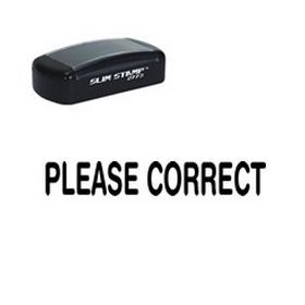 #Slim Pre-Inked #Please #Correct Teacher Stamp. Looking to order stamps online? Choose the please correct pre-inked stamp. Make grading and paperwork fast and efficient with a stamp!