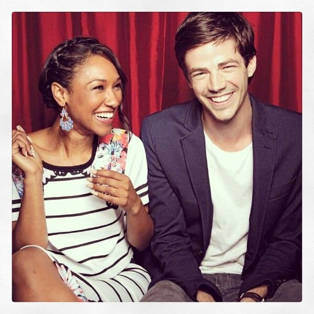With Candice Patton <3