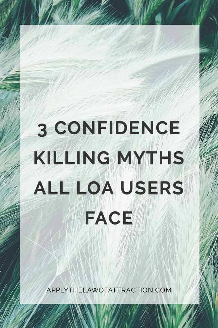 Discover the 3 law of attraction myths that kill your confidence and make LOA seem impossible. Don't let these law of attraction myths sabotage you!