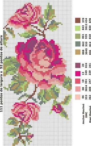 ponto-cruz-flores-punto-de-croce-10-500x400 78 gráficos de flores em ponto cruz para imprimir