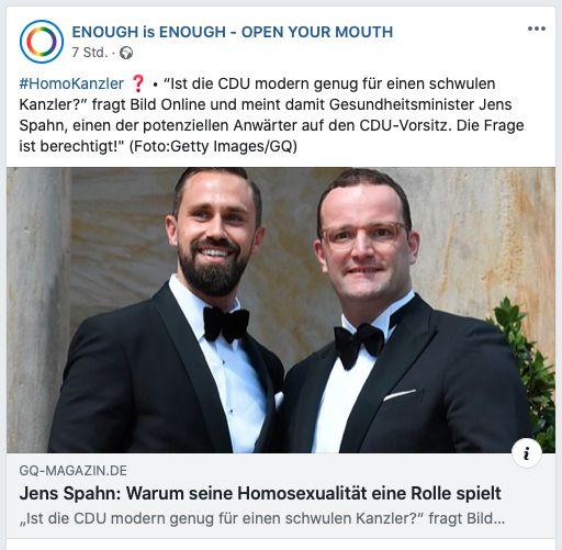 Jens Spahn Schwul?