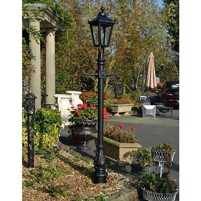 Victorian #style #lantern and lamp post - antique garden #lighting - square lante,  View more on the LINK: 	http://www.zeppy.io/product/gb/2/391543808481/