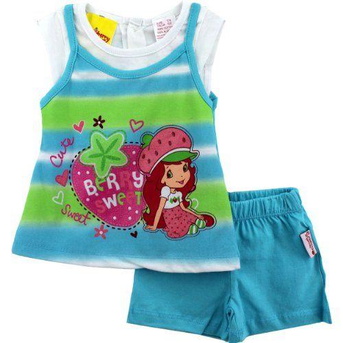 "Strawberry Shortcake ""Berry Sweet"" Infant Girls Top & Shorts Set 12M Strawberry Shortcake http://www.amazon.com/dp/B007OUNK88/ref=cm_sw_r_pi_dp_gaZ.tb08SESH5"