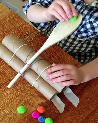How to make a simple, DIY catapult