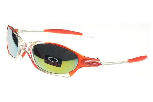 Oakley Juliet Sunglasses crystal orange-clear frames yellow-blue Iridium  sales online, save