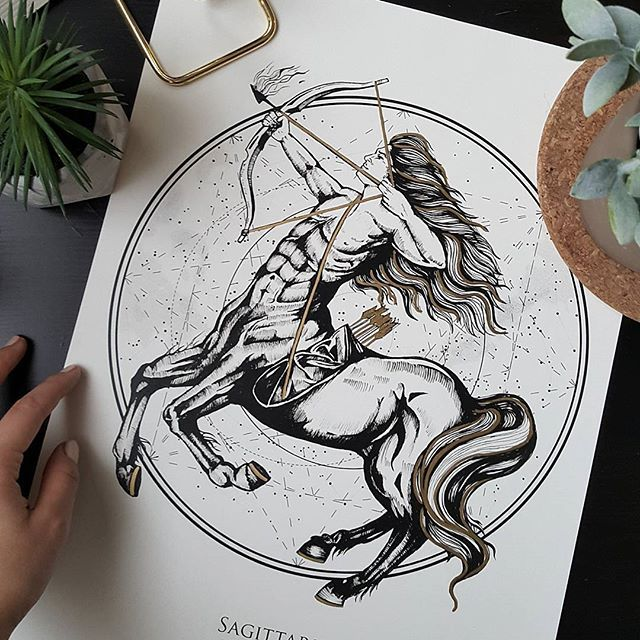 Sagittarius/ Střelec ♐ kolekce Zodiac.