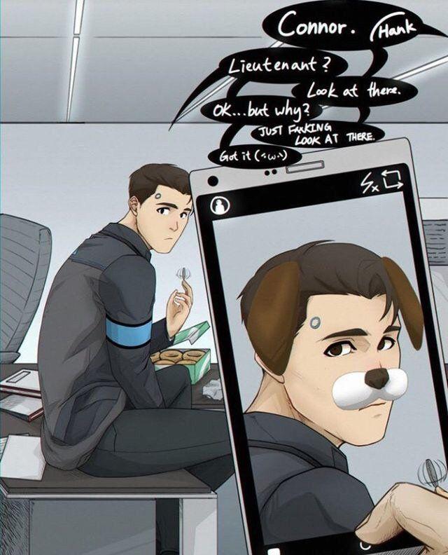 Connor X Reader X Rk900