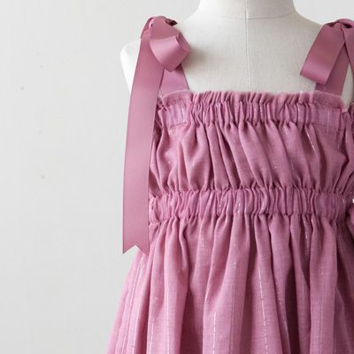 【SALE☆45%OFF】TALC 2013SS キッズ チューブトップワンピース (42 PINK/55 BAIGE ピンク系)2A-6A - LILI et NENE Official