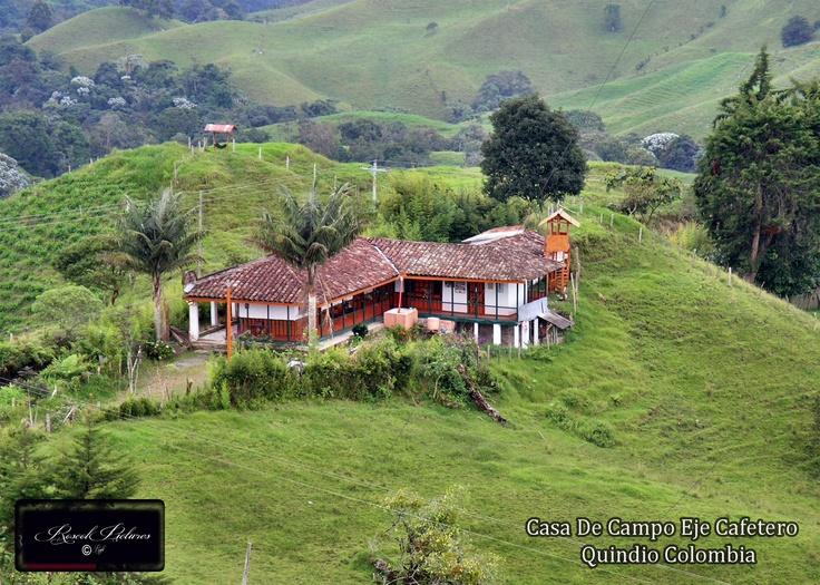 casa de campo Armenia Quindio Colombia #SomosTurismo