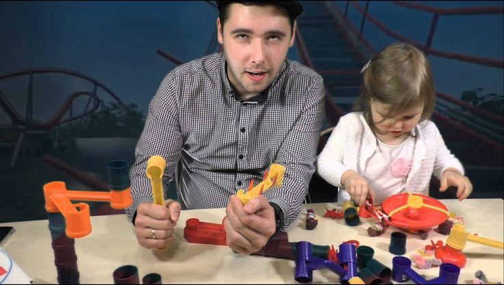 Веселые горки Распаковка игрушек Крым unboxing VLOG Crimea roller coaster