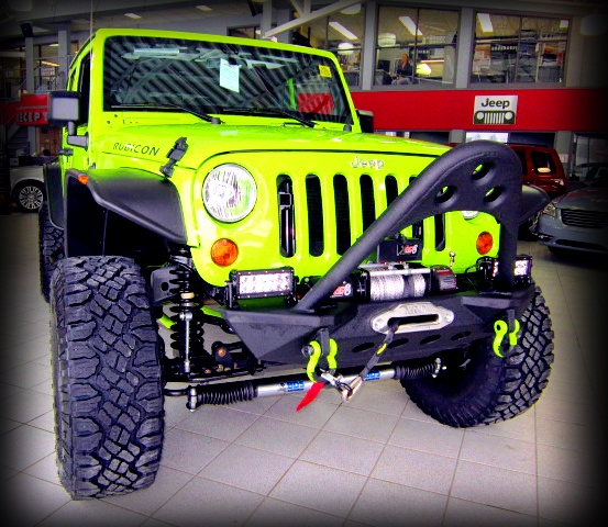 SOLD Tricked out 2012 Jeep Wrangler Gecko Image
