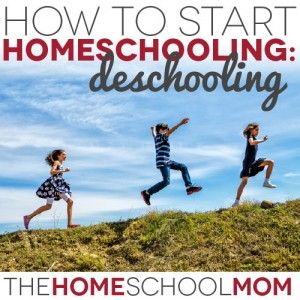 For children who are starting homeschooling after an experience in a traditional school setting, deschooling is an important part of the transition. In an earlier post, we defined deschooling and how it might manifest in children who are transitioning from school to homeschooling. Knowing about deschooling helps parents to have realistic expectations about their children's adjustment to homeschooling after they have attended school.Today, we'll take a look at how to start homeschooling after…