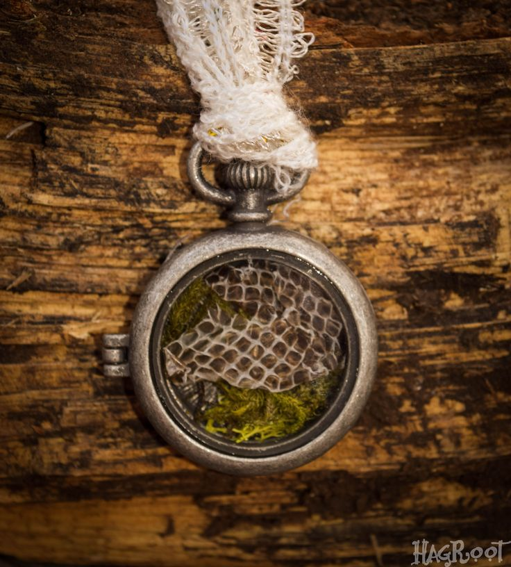 RAINBOW SERPENT- Natural Handmade Necklace- Transformation, Healing, Dream Recall