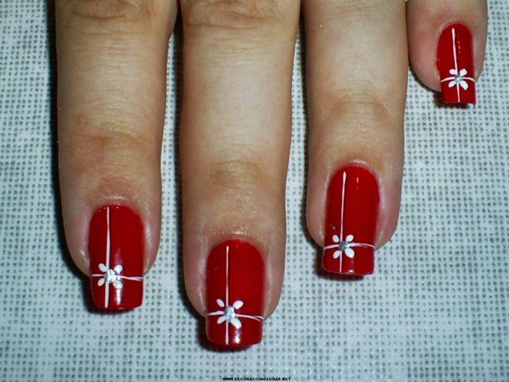 50 Fotos de uñas navideñas – Christmas Nails   Decoración de Uñas - Manicura y NailArt - Part 2