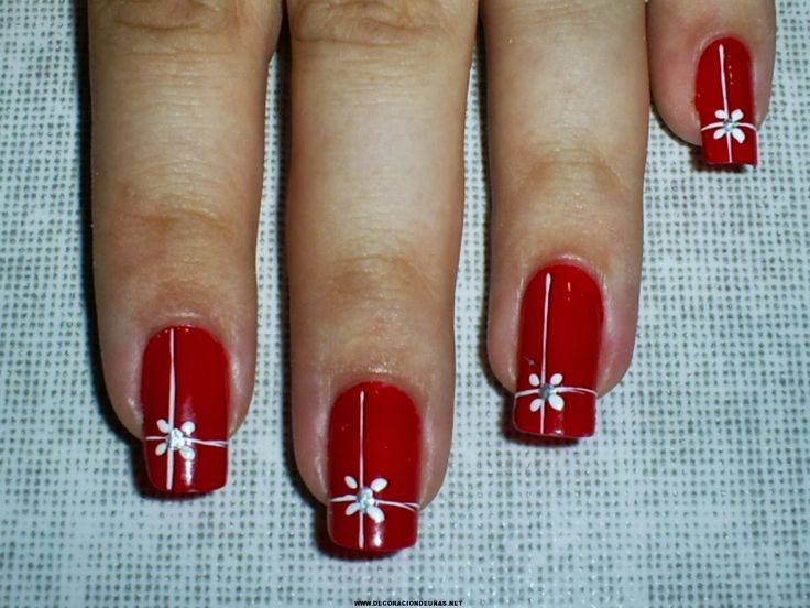 50 Fotos de uñas navideñas – Christmas Nails | Decoración de Uñas - Manicura y NailArt - Part 2