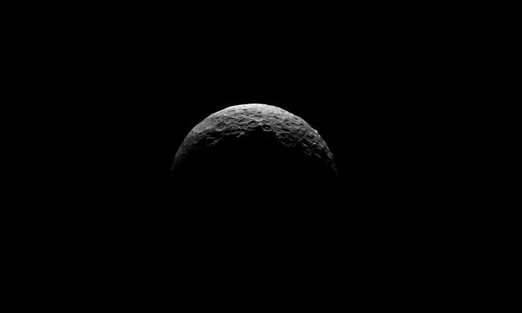 Image of Ceres by the Dawn spacecraft on April 10, 2015
