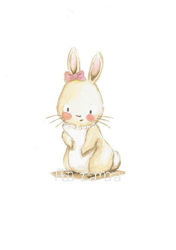 Nursery Art Quot Family Bunny Quot Baby Prints Nursery