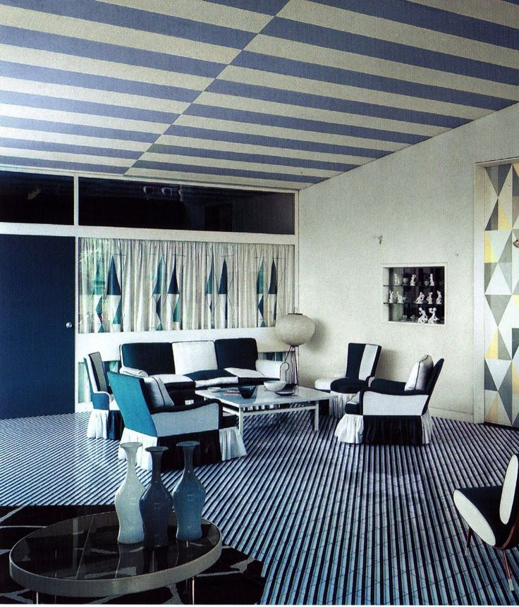 """optical_blue"" - designing art #gioponti #blu #illinois                                                                                                                                                      More"
