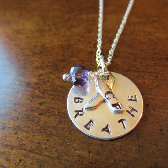 Cystic Fibrosis Awareness BREATHE Fundraiser by HarvestMoonCompany, $35.00