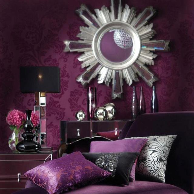 102 besten home decor Bilder auf Pinterest Alles lila - wohnzimmer deko lila