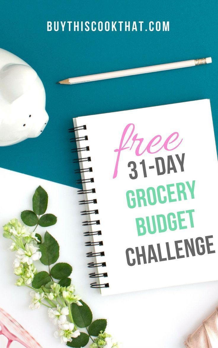 Take control of your grocery list and your grocery budget with this FREE and EASY 31-Day Grocery Budget Challenge.      Learn a new approach to grocery shopping with common sense advice. Actionable steps that will save you $$$.  #grocerybudget #savemoney